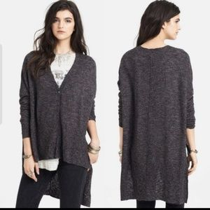Free People TGIF oversized sweater high-low